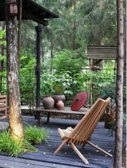 Предлагаем складной стул-шезлонг,  кресло из дерева