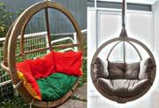 Оригинальные и уютные подвесные кресла для двоих в фирме «Lounge Wood»